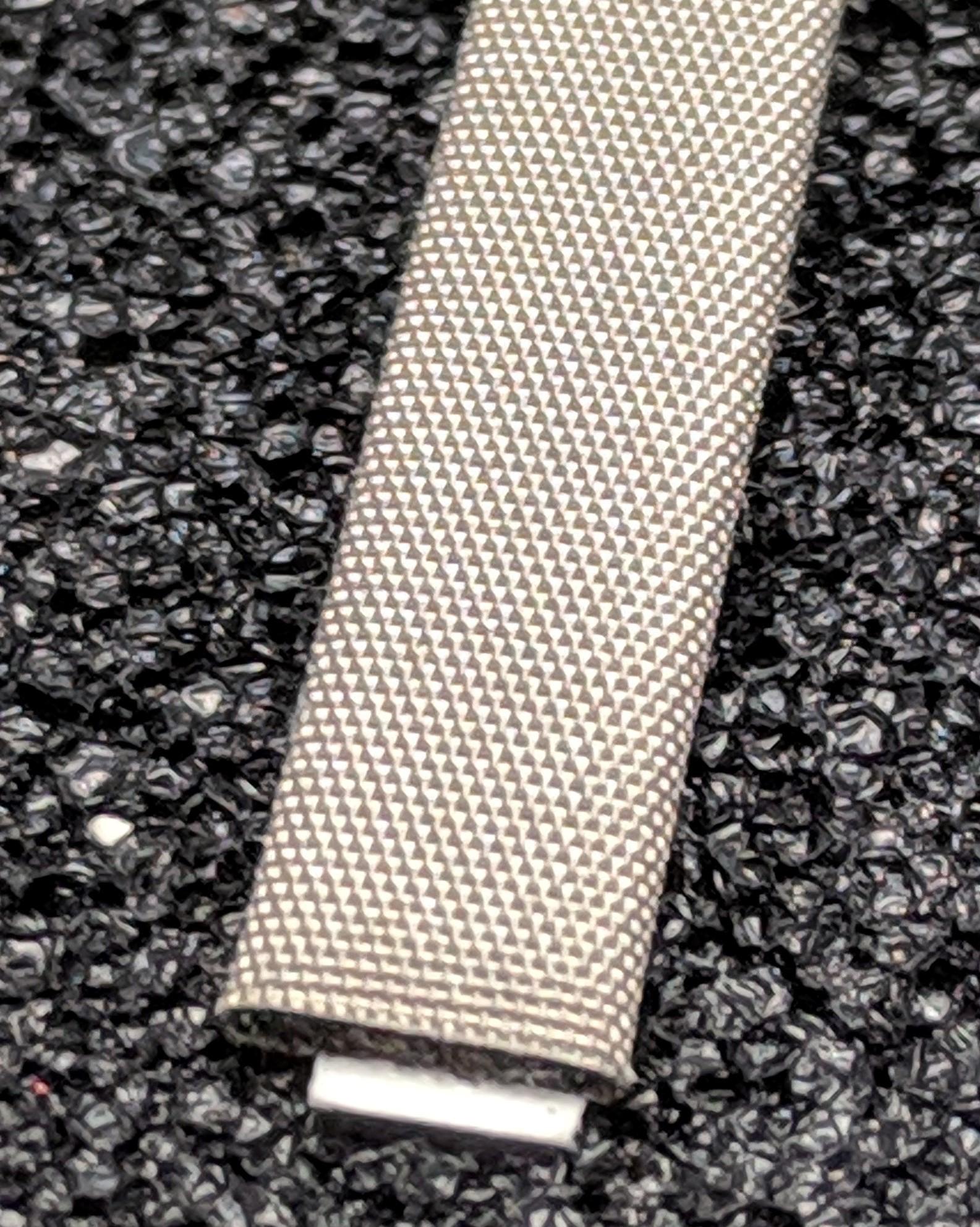 420-0050-0015SFG Fabric Over Foam Soft EMI Shielding Gasket Flat Shape 5.0mm x 1.5mm (WxH)