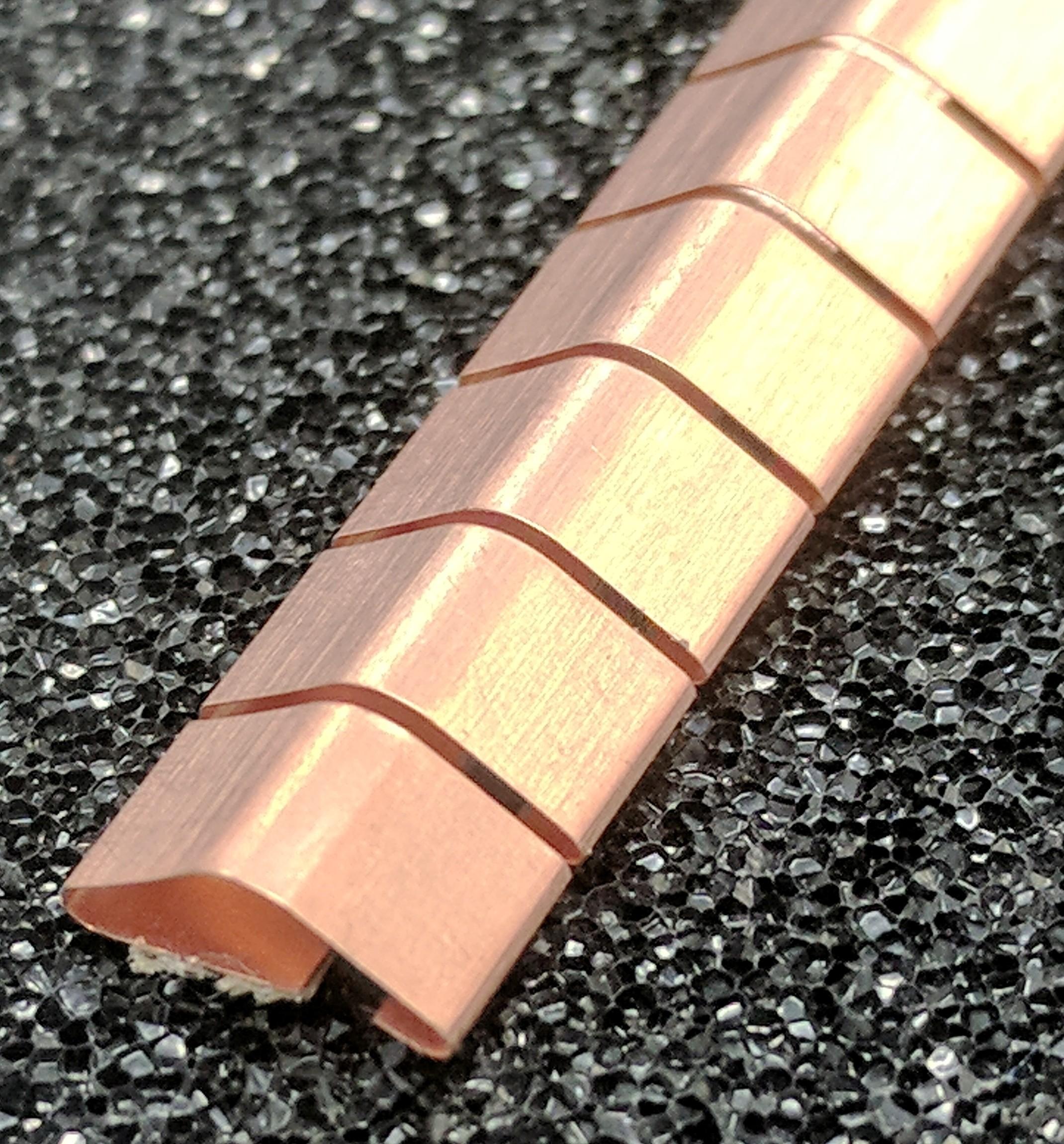 ECP 644 Beryllium Copper (Be/cu) Fingerstrip 8.13mm x 2.79mm (WxH)
