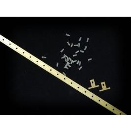 PR45 Plastic Rivet 4.57mm x 8.38mm (WxH)