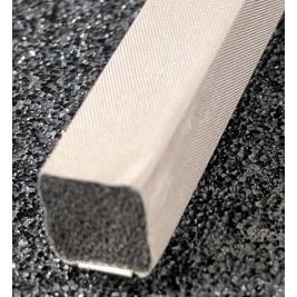 430-0080-0080SFG Fabric Over Foam Conductive Gasket Square Shape 8.0mm x 8.0mm (WxH)