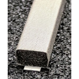 410-0060-0040SFG Fabric Over Foam Soft EMI Shielding Gasket Rectangle Shape 6.0mm x 4.0mm (WxH)
