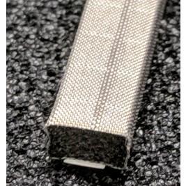 410-0064-0032SFG Fabric Over Foam Soft EMI Shielding Gasket Rectangle Shape 6.4mm x 3.2mm (WxH)