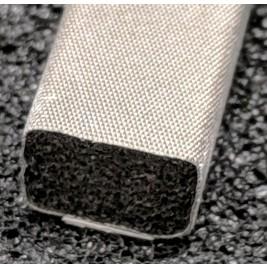 410-0095-0064SFG Fabric Over Foam Soft EMI Shielding Gasket Rectangle Shape 9.5mm x 6.4mm (WxH)