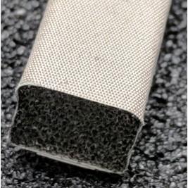 410-0100-0080SFG Fabric Over Foam Soft EMI Shielding Gasket Rectangle Shape 10.0mm x 8.0mm (WxH)