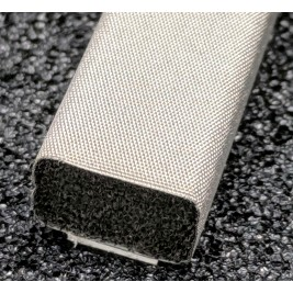 410-0110-0070SFG Fabric Over Foam Soft EMI Shielding Gasket Rectangle Shape 11.0mm x 7.0mm (WxH)