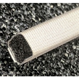 430-0050-0050SFG Fabric Over Foam Conductive Gasket Square 5.0mm x 5.0mm (WxH)