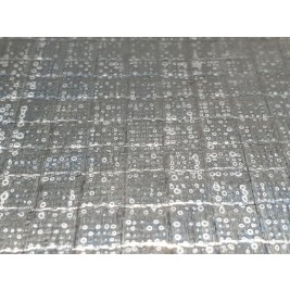 ECP 7006 600GSM + 18um AL Aluminised Glass Fabric