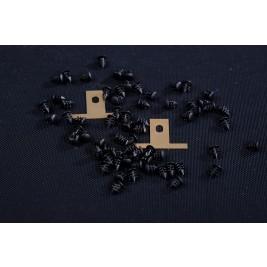 PR60 Plastic Rivet 4.82mm x 5.56mm (WxH)