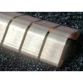ECP 614N Beryllium Copper (Be/cu) Fingerstrip 15.24mm x 4.83mm (WxH)