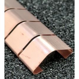 ECP 615  Beryllium Copper (Be/cu) Fingerstrip 15.24mm x 5.59mm (WxH)