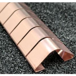 ECP 616  Beryllium Copper (Be/cu) Fingerstrip 20.3mm x 8.13mm (WxH)