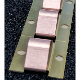 ECP 616/OMNI  Beryllium Copper (Be/cu) Fingerstrip 21.6mm x 8.1mm (WxH)