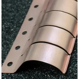 ECP 624  Beryllium Copper (Be/cu) Fingerstrip 2.42mm x 10.41mm (WxH)