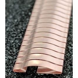 ECP 632  Beryllium Copper (Be/cu) Fingerstrip 11.4mm x 2.0mm (WxH)
