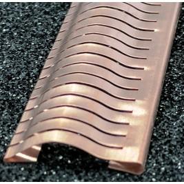 ECP 632/HO  Beryllium Copper (Be/cu) FIngerstrip 11.4mm x 1.5mm (WxH)