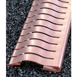 ECP 634  Beryllium Copper (Be/cu) Fingerstrip 13.97mm x 2.0mm (WxH)
