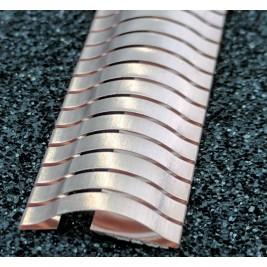 ECP 636  Beryllium Copper (Be/cu) Fingerstrip 15.2mm x 3.0mm (WxH)