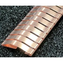 ECP 636/HO  Beryllium Copper (Be/cu) Fingerstrip 15.2mm x 2.3mm (WxH)
