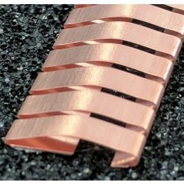 ECP 638  Beryllium Copper (Be/cu) Fingerstrip 19.1mm x 3.0mm (WxH)