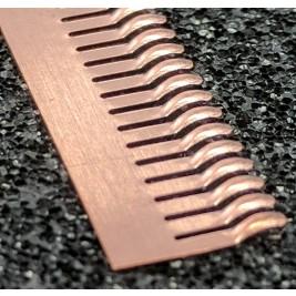 ECP 660  Beryllium Copper (Be/cu) Fingerstrip 8.64mm x 1.02mm (WxH)