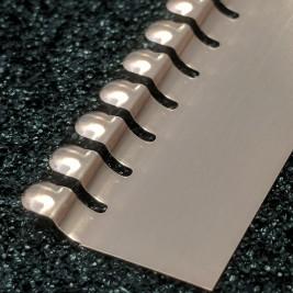 ECP 664 Beryllium Copper (Be/cu) Fingerstrip 19.05mm x 3.05mm (WxH)