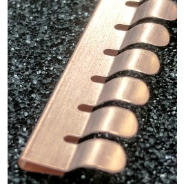 ECP 668 Beryllium Copper (Be/cu) Fingerstrip 10.67mm x 2.03mm (WxH)
