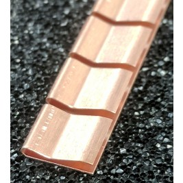 ECP 671  Beryllium Copper (Be/cu) Fingerstrip 7.11mm x 1.52mm (WxH)