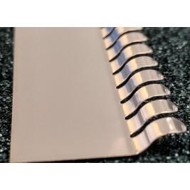 ECP 673  Beryllium Copper (Be/cu) Fingerstrip 22.61mm x 3.05mm (WxH)