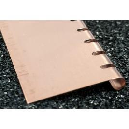 ECP 675  Beryllium Copper (Be/cu) Fingerstrip 19.05mm x 3.05mm (WxH)