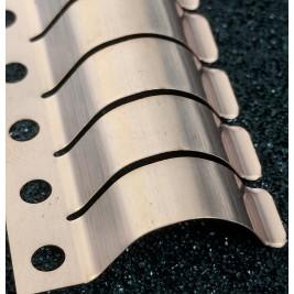 ECP 680 Beryllium Copper (Be/Cu) Fingerstrip 27.69mm x 6.60mm (WxH)