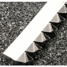 ECP 697/SS Stainless Steel Fingerstrip 8.6mm x 1.8mm (WxH)