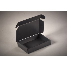 ECP 1079 Anti Static Conductive Black Correx Box 300 x 250 x 60mm