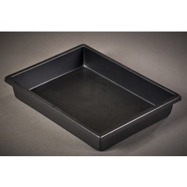 ECP 1107 Anti Static Conductive Black Vacuum Formed Tray 400 x 300 x 70mm