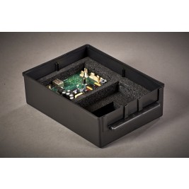 ECP 1116 Anti Static Conductive Black Interbox 250 x 200 x 80mm