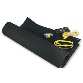 ECP 1506 Anti Static Conductive Neoprene Matting 1.25mm thick 1.2mm x 0.6mm