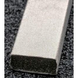 410-0127-0064SFG Fabric Over Foam Soft EMI Shielding Gasket Rectangle Shape 12.7mm x 6.4mm (WxH)