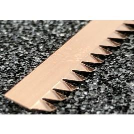 ECP 625  Beryllium Copper (Be/cu) Fingerstrip 5.84mm x 0.76mm (WxH)