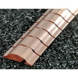 ECP 650 Beryllium Copper (Be/cu) Fingerstrip 8.13mm x 2.54mm (WxH)