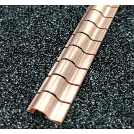ECP 652 Beryllium Copper (Be/cu) Fingerstrip10.67mm x 3.05mm (WxH)