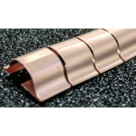 ECP 657 Beryllium Copper (Be/cu) Fingerstrip 15.24mm x 5.59mm (WxH)