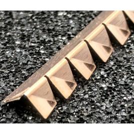ECP 697/90 Degree Beryllium Copper (Be/cu) Fingerstrip 4.47 x 4.00mm (WxH)