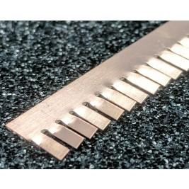 ECP 699  Beryllium Copper (Be/cu) Fingerstrip 9.14mm x 0.76mm (WxH)