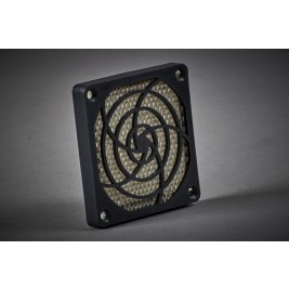 ECP PVENT 80 EMI Shielding Plastic Fan Vent 84.5mm Square 10mm Mounting Hole