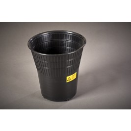 ECP WASTEBIN Anti Static Conductive Black Waste Bin