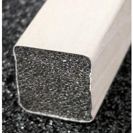 430-0170-0170SFG Fabric Over Foam Conductive Gasket Square Shape 17.0mm x 17.0mm (WxH)