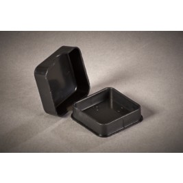 ECP 1000 Anti Static Conductive Plastic Box 38mm x 38mm x 12mm
