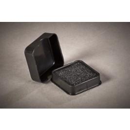 ECP 1001 Anti Static Conductive Plastic Box HD foam 38mm x 38mm x 12mm