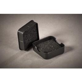 ECP 1002 Anti Static Conductive Plastic Box HD & LD foam 38mm x 38mm x 12mm