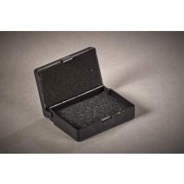 ECP 1008 Anti Static Conductive Plastic Box HD & LD foam 74mm x 52mm x 20mm