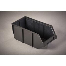 ECP 1104 Anti Static Conductive Plastic Bin 395mm x 200mm x 175mm